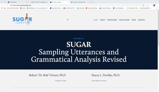 SUGAR Sampling Utterances and Grammatical Analysis Revised - FREE Product