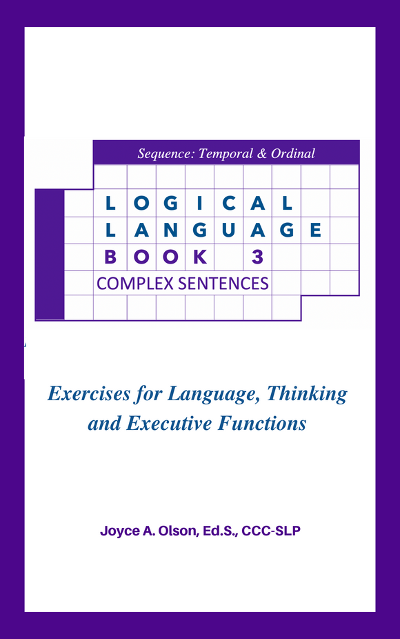 Logical Language Puzzles - Book3 + 22-page Manual  DIGITAL DOWNLOAD zip file