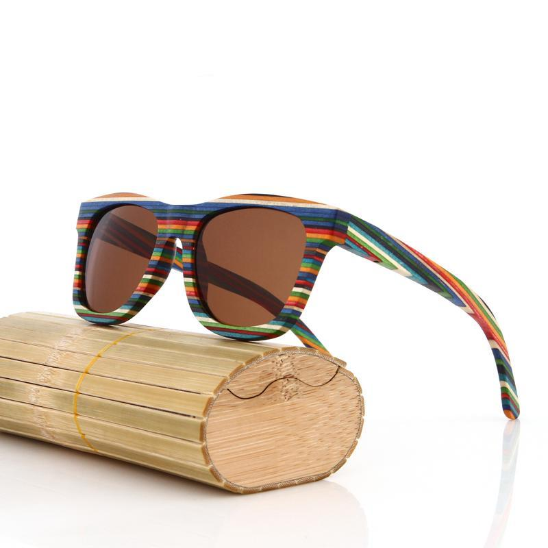 Original Wooden Bamboo Sunglasses *UV400 Protection*