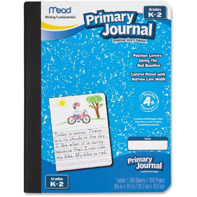 PRIMARY COMPOSITION BOOK W/DRAWING SPACE