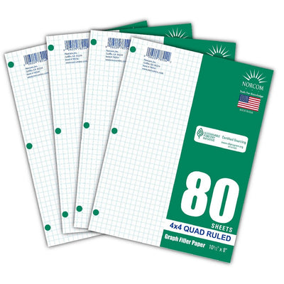 Graph And Filler Papers & Year Planner