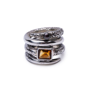 LUST Ring Citrine