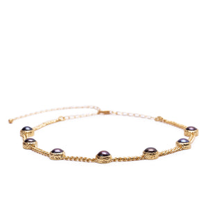 POEM Choker Gold Plated