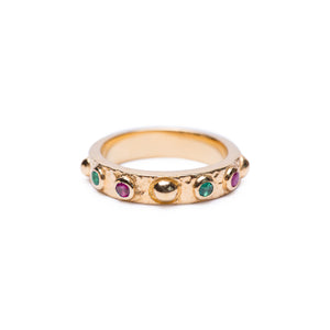 KALEIDO Ring Gold Plated