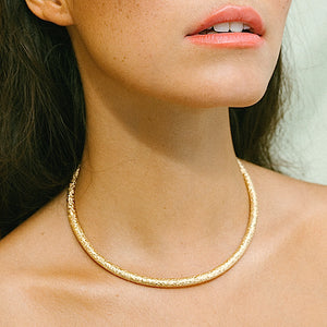 SUPERNOVA Collier Gold Plated