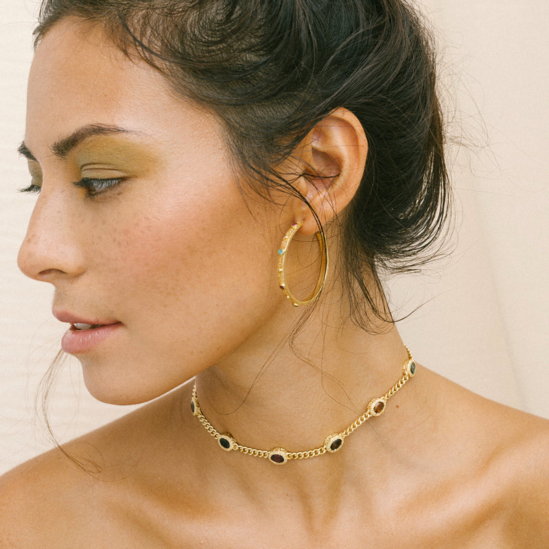 VOYAGER Choker Gold Plated