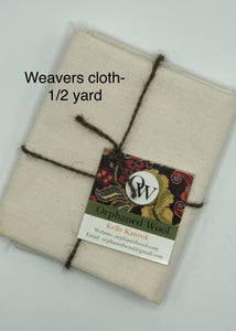 Weavers Cloth 1/2 yard- Natural
