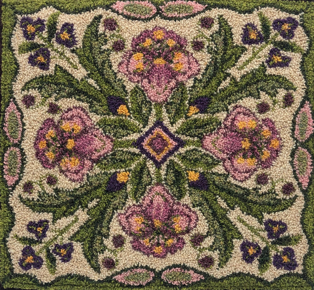 Lovely-(PRH) Paper Rug Hooking Pattern