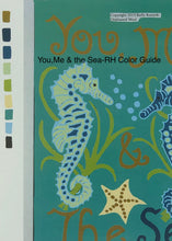 You,Me & the Sea-Paper Rug Hooking pattern-(PAPER PATTERN ONLY)