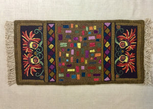 Dash-Paper Rug Hooking Pattern-(PAPER PATTERN ONLY)