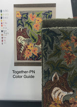 Together- Paper Punch Needle Pattern-(PAPER PATTERN ONLY)