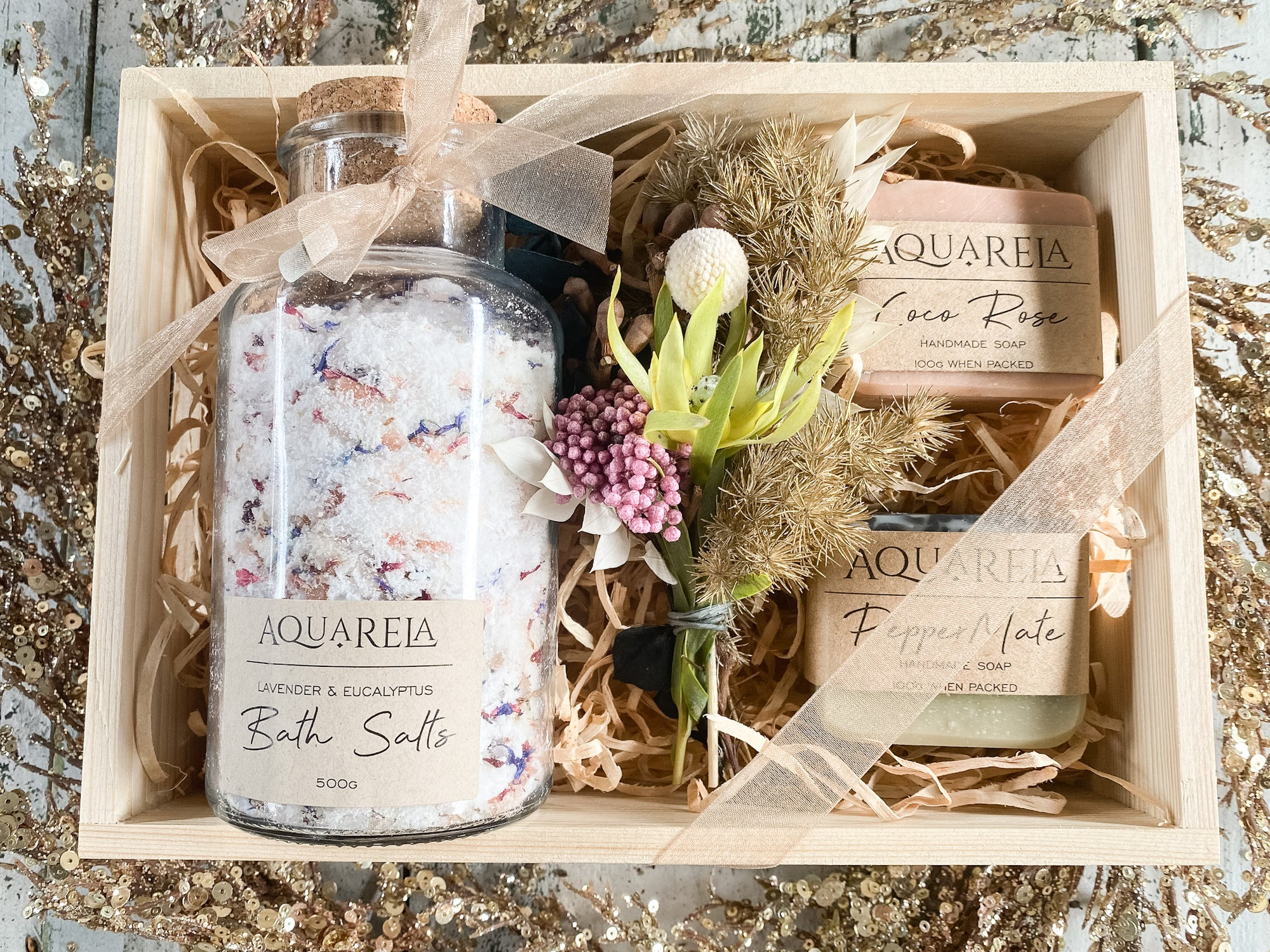 Aquarela Bath Pamper Pack