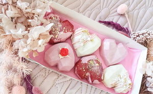 Luxe Heart Cakes