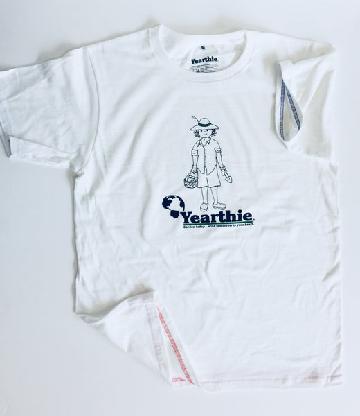 Gardener T shirt by Yearthie - Garden today with tomorrow in your heart.