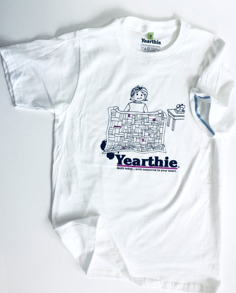 Quilter T-shirt by Yearthie - Quilt today with tomorrow in your heart
