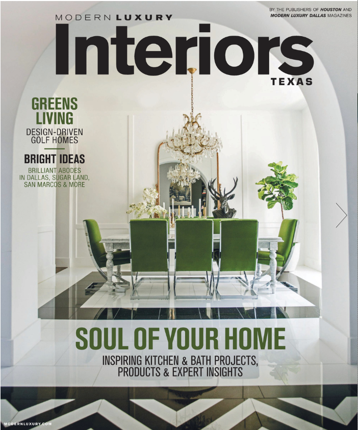 Modern Luxury Interiors Texas Magazine