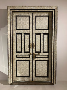 Mother Of Pearl Inlay Double Doors