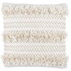 Zhara Ivory Decorative Pillow | Indoor/Outdoor | 22""