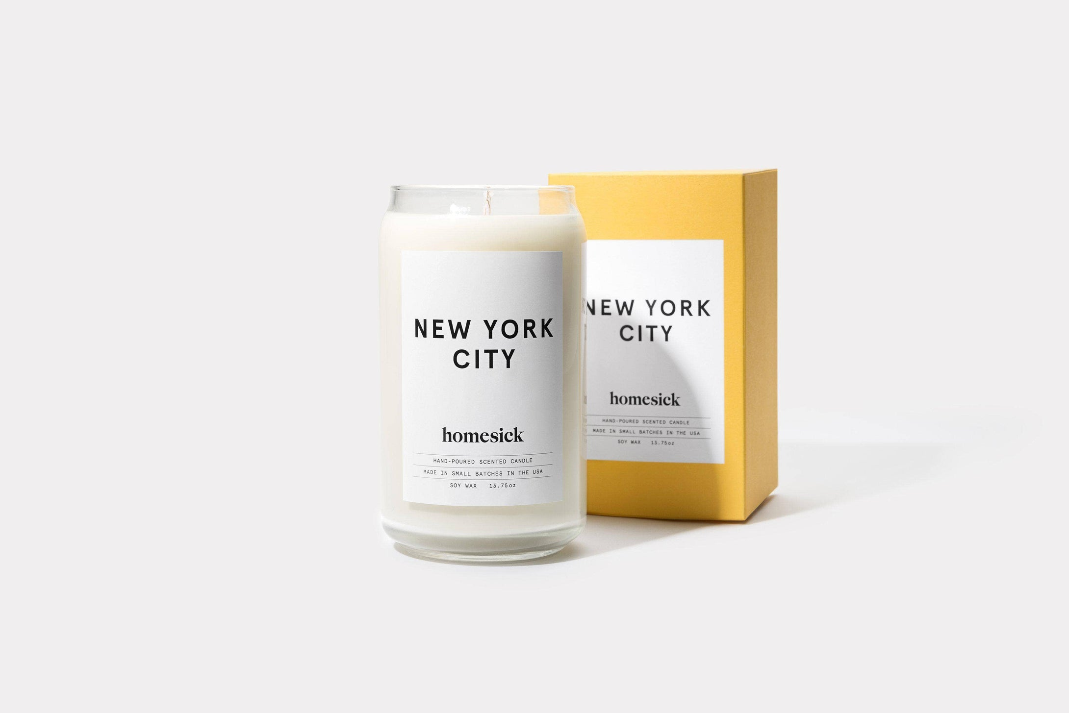 Homesick Candles | New York City Candle