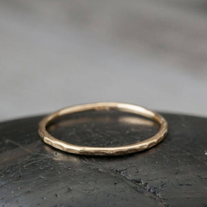Gold Plated Wire Ring | Size 7
