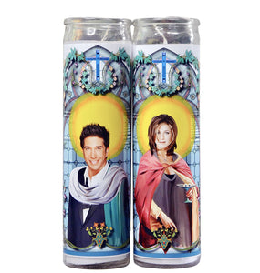 Ross and Rachel Celebrity Prayer Candle Set | Friends