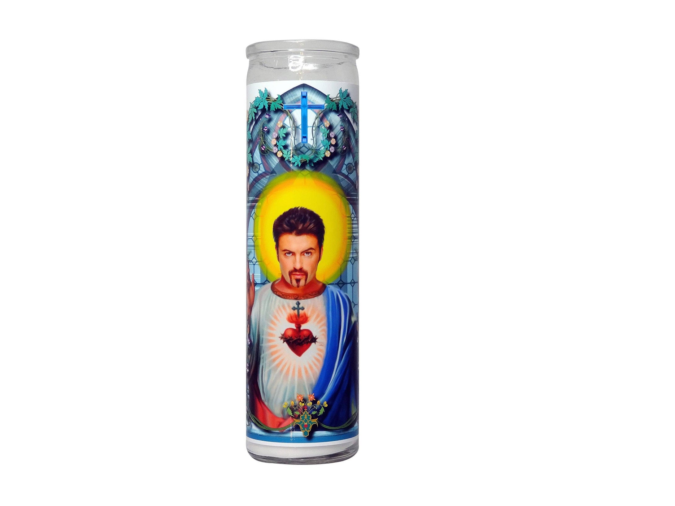 George Michael Celebrity Prayer Candle