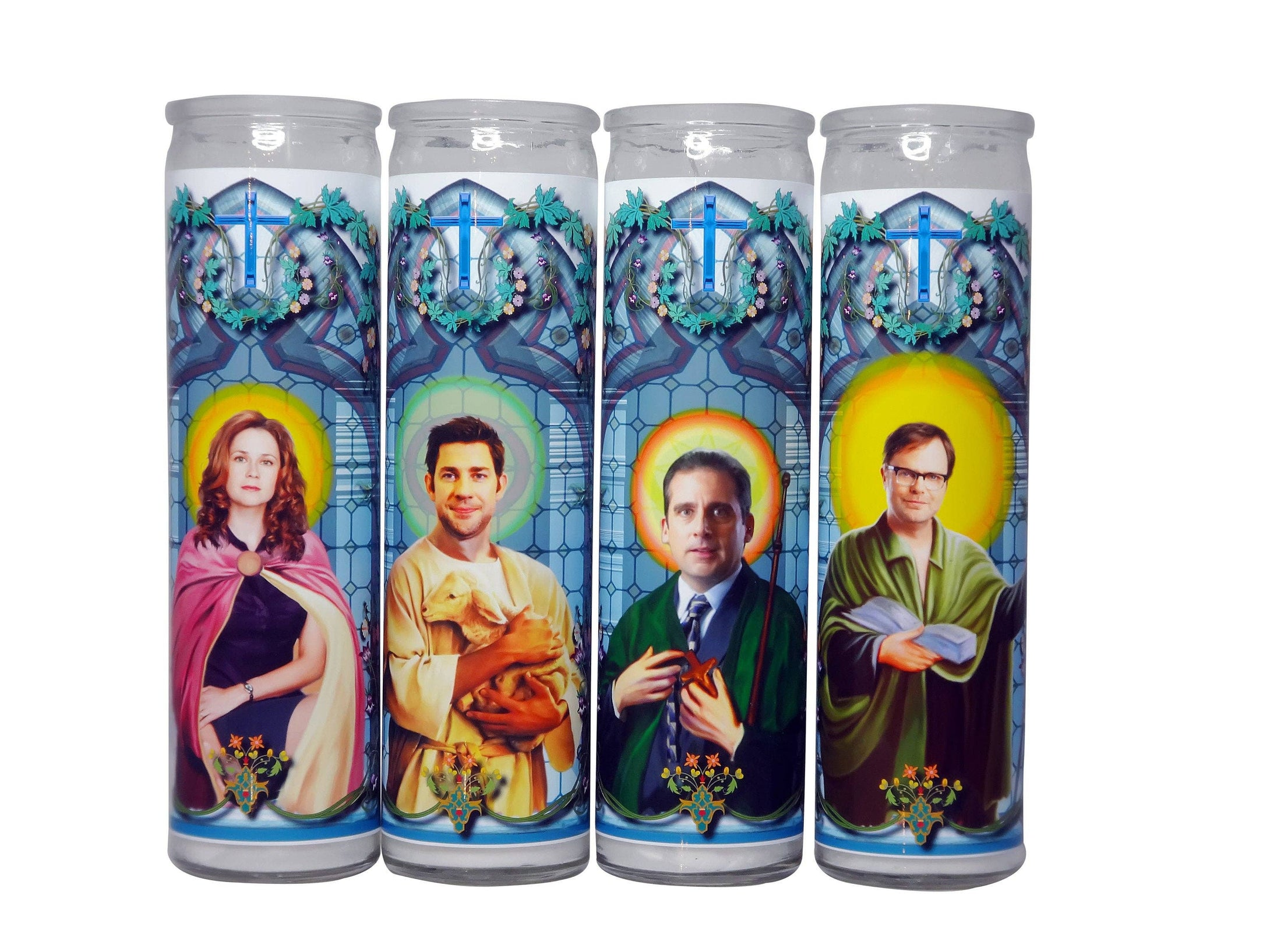 The Office Celebrity Prayer Candle Set