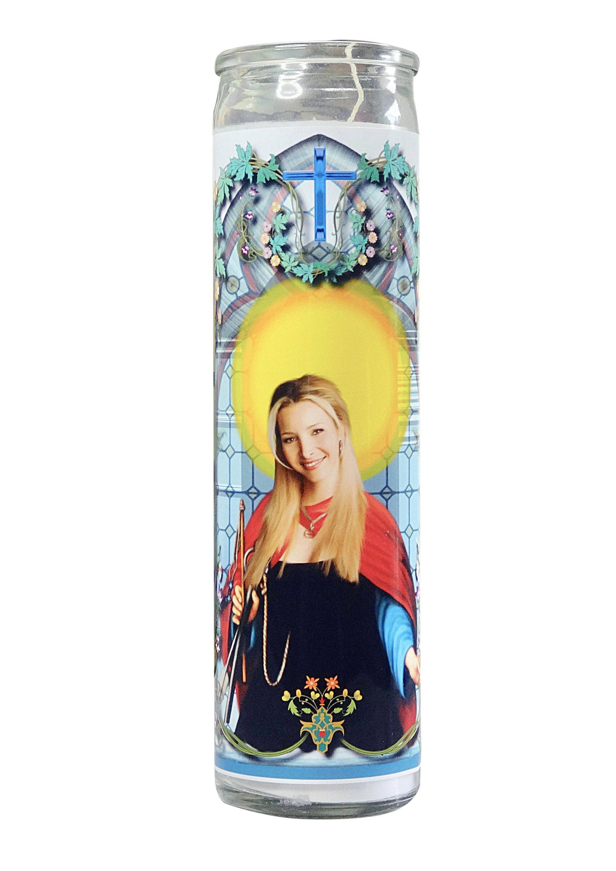 Phoebe Buffay Celebrity Prayer Candle