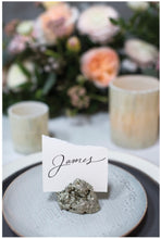 "Stellar Pyrite Namecard Holder | 2.5""x2"""