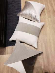 Ming Birch Sharkskin Velvet pillow 22""