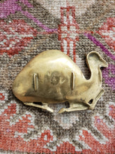 Vintage Brass Camel Ashtray