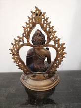 Hindu Bronze Sitting Buddha Sculpture
