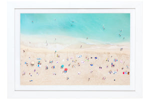 "Gray Malin | Waikiki Beach Mini | Framed 15.5"" x 21.5"""