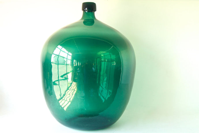 Blue/Green Bubble Vase