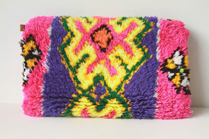 Beni Clutch Pink/Blue
