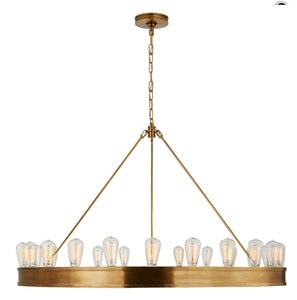 "Ralph Lauren | Roark 50"" Modular Ring Chandelier 