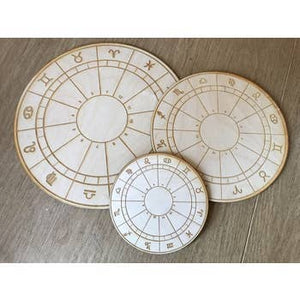 Zodiac Wheel Crystal Grid | 6""