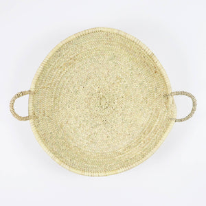 Moroccan Straw Woven Basket