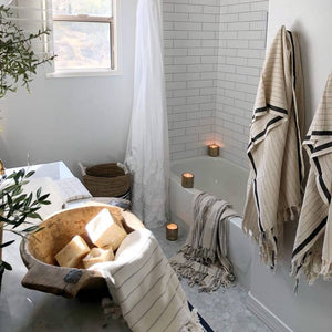 Silvia 100% Turkish Cotton Bath Towel