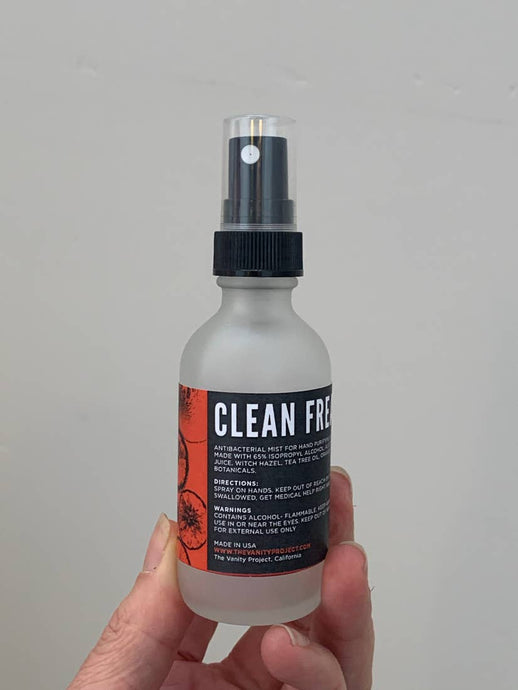 Clean Freak Antibacterial Mist | 65% Alcohol