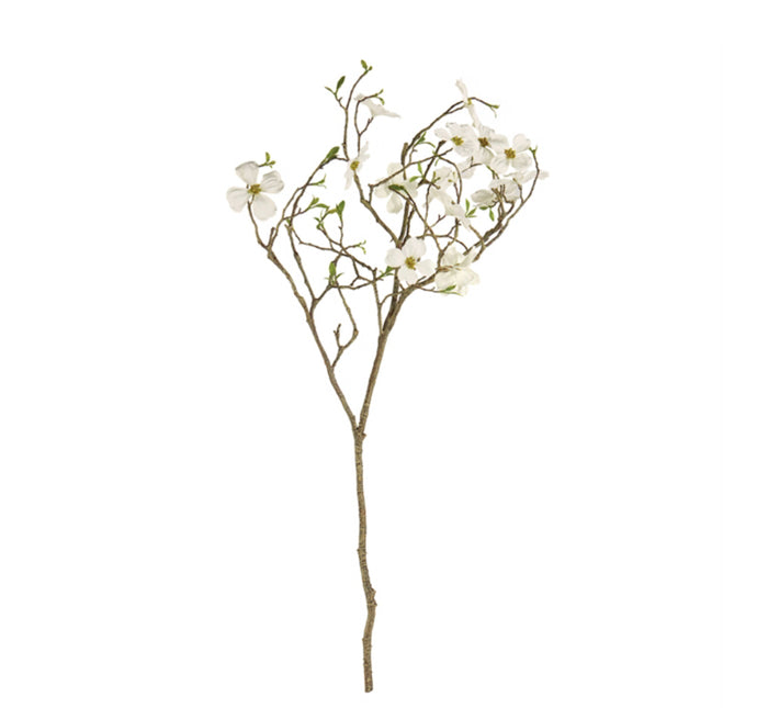 Faux Dogwood Blossom Branch | 40