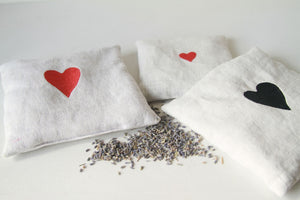 Red Heart Lavender Sachet Large