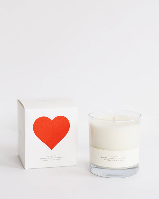 Love Potion Limited Edition Boxed Candle | Brooklyn Candle Studio