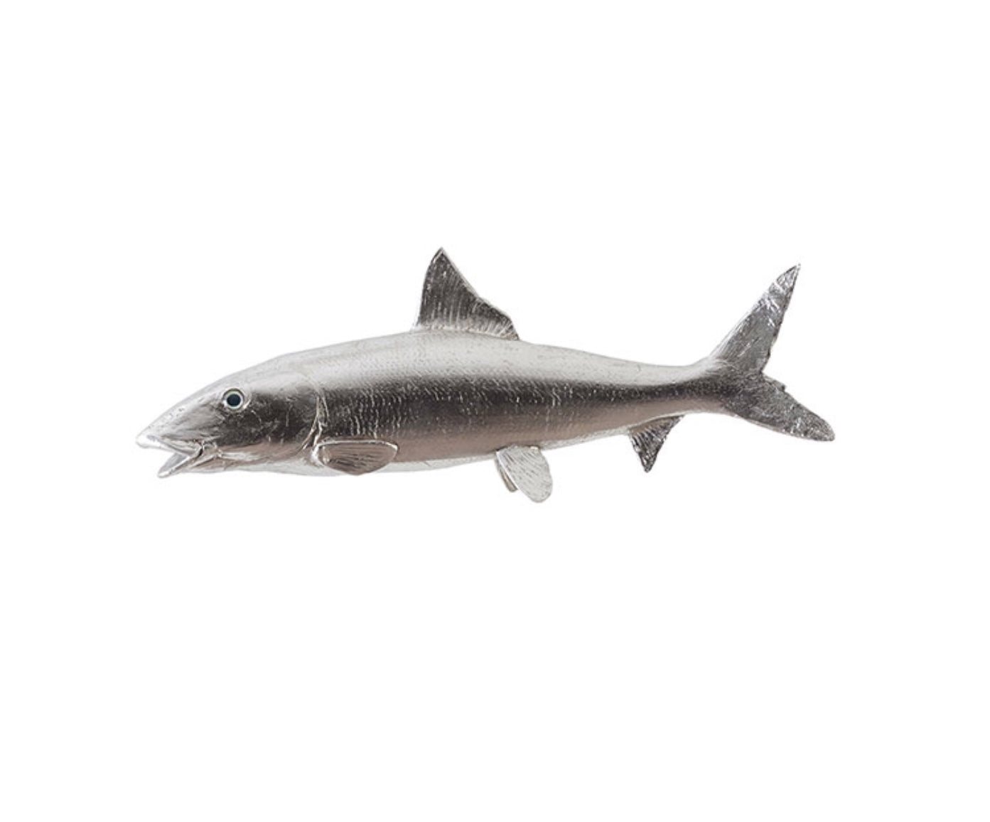 Silver Leaf Bonefish Wall Sculpture