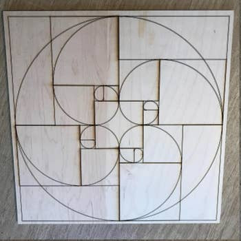 Golden Ratio Crystal Grid | 6""