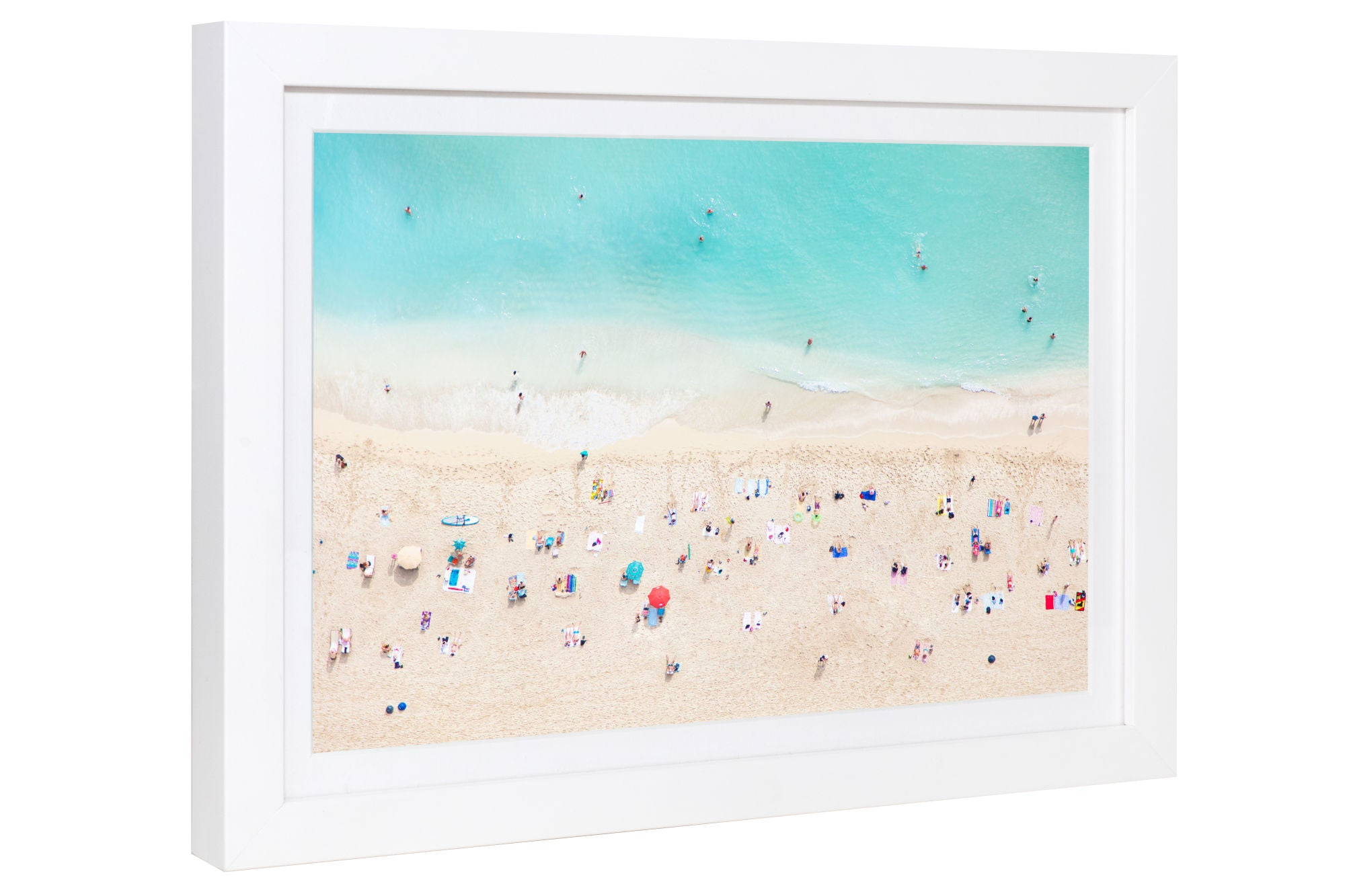 Gray Malin | Waikiki Beach Mini | Framed 15.5
