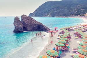 "Gray Malin | Monterosso Beach, Cinque Terre Mini | Framed 15.5"" x 21.5"""