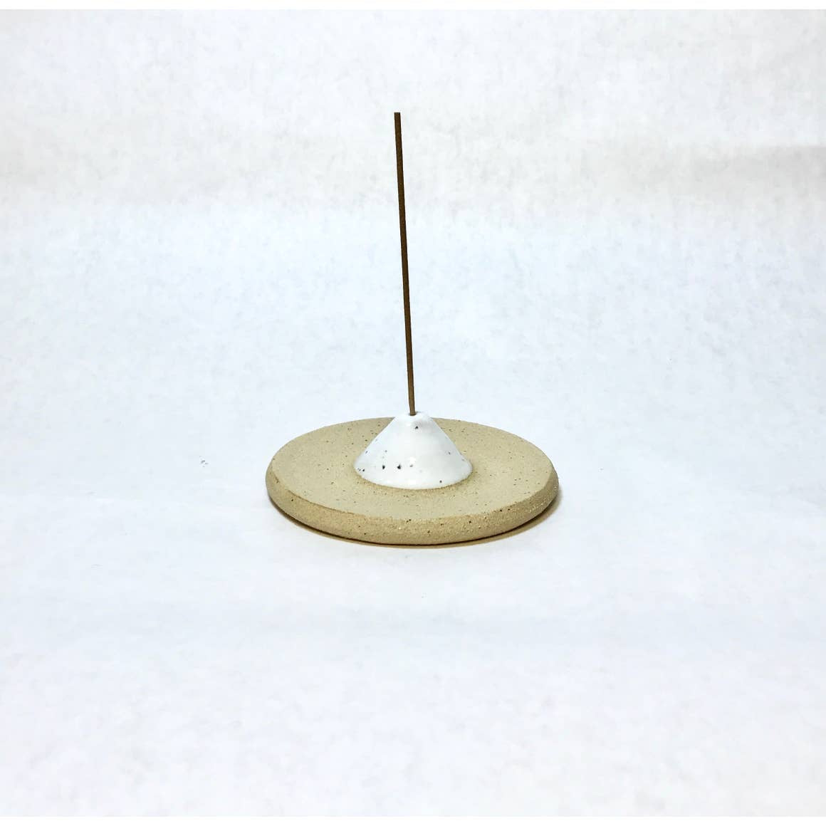Ceramic Incense Holder | White