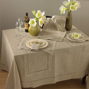 Hemstitch Placemats | Natural | Set 4