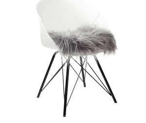 Icelandic Gray Chairpad Sheepskins